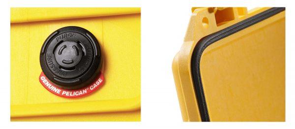 Van cân bằng áp suất và vòng đệm Pelican 1150 Protector Case