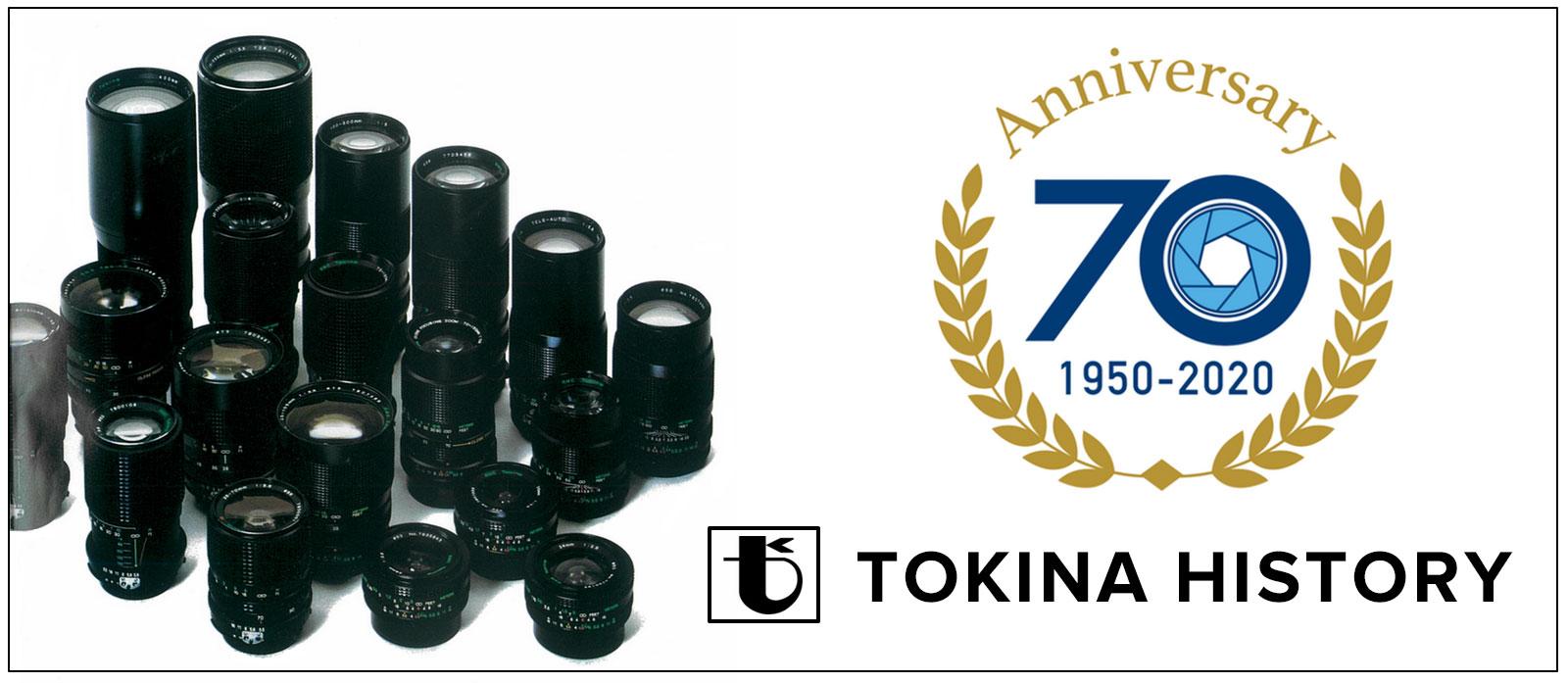 Bí mật lịch sử 70 năm thương hiệu ống kính Tokina