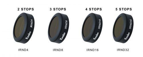 Bộ kính lọc Flycam cao cấp Kenko IRND 4 trong 1