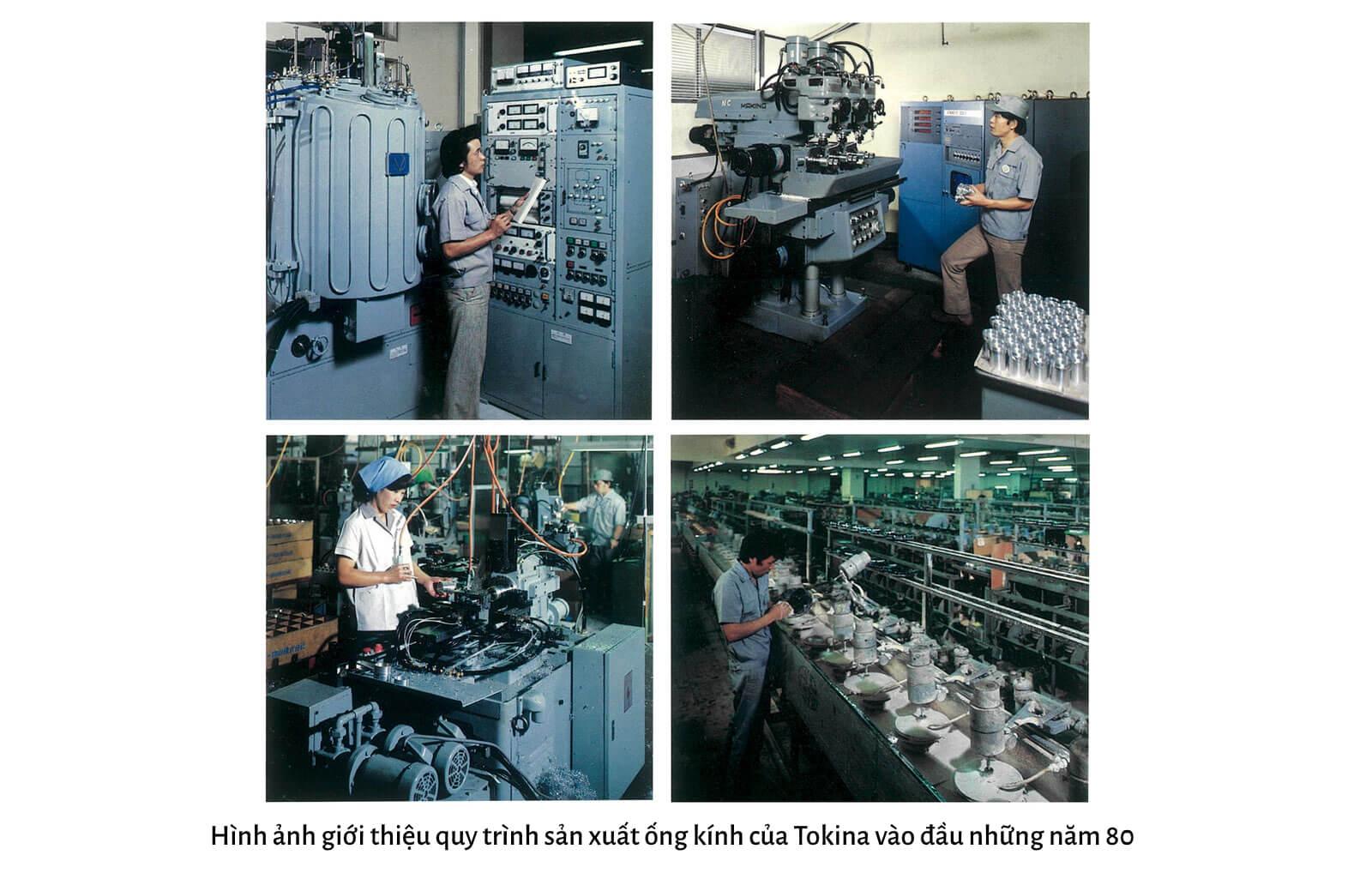 Quy trình sản xuất ống kính Tokina đầu những năm 80